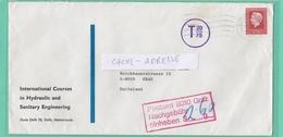BRIEF AUS  NIEDERLAND MIT NACHGEBÜHR. - 1945-.... 2ème République