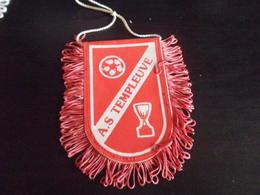 Fanion Football - AS TEMPLEUVE - Habillement, Souvenirs & Autres
