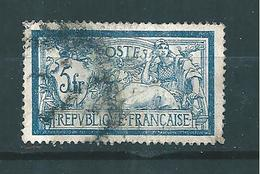 France Type Merson  De 1900  N°123c ( Sans Teinte De Fond) Oblitéré Cote 175 € - 1900-27 Merson