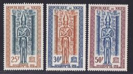 NIGER AERIENS N°   38 à 40 ** MNH Neufs Sans Charnière, TB (D6663) Sauvegarde Des Monuments De Nubie - Niger (1960-...)