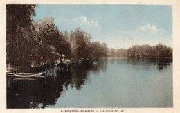CPA ENGHIEN LES BAINS - LES BORDS DU LAC - Enghien Les Bains