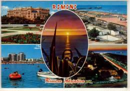 RIMINI PANORAMI  VIAGGIATA - Rimini