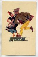 POLOGNE  Illustrateur STRYJENSKA  Danseurs De Polka 1927    /D11-2018 - Polonia