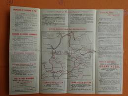 DEPLIANT TOURISTIQUE BRIANCONNAIS  BRIANCON HAUTES-ALPES  CARTES PUBLICITES - Dépliants Touristiques