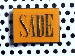 1 Pin's SADE - Music