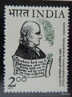 INDIA Year 1977, International Homeopathic Congress, MNH SG 857 - India