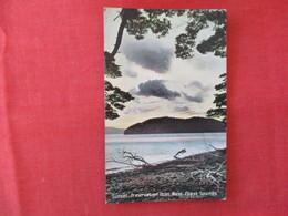 Sunset Preservation Inlet West Coast Sounds New Zealand >ref 2916 - New Zealand