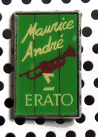 1 Pin's Trompettiste MAURICE ANDRE - Officiel Maison De Disque ERATO - Music