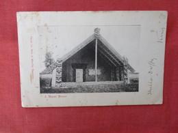 Maori HouseNew Zealand >ref 2916 - New Zealand