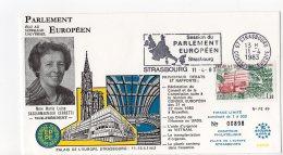 1983 - Strasbourg - Conseil De L'Europe - Parlement Européen - Mme Maria Luisa CASSANMAGNAGO CERRETTI - Vice-Pte - Europese Instellingen
