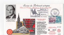 1983 - Strasbourg - Conseil De L'Europe - Parlement Européen - Sir Henry PLUMB - Pdt Du Groupe Des Démocrates Européens - Europese Instellingen