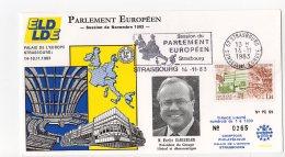 1983 -Strasbourg -Conseil De L'Europe -Parlement Européen -Mr Martin BANGEMANN Pdt Du Groupe Libéral Et Démocratique - Europese Instellingen