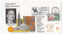 1983 - Strasbourg - Conseil De L'Europe - Parlement Européen - Mr Konstantinos NIKOLAOU - Vice Président - Europese Instellingen