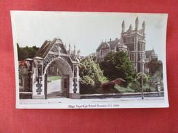Stamps  & Cancel Otago Boys High School  Dunedin New Zealand >ref 2916 - New Zealand
