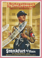 Propaganda - 1. Reichswettbewerb Für Saalflugmodelle Des Ns-Fliegerkorps - FRANKFURT A/Main - Messe - Ausstellung 1938 - Guerre 1939-45