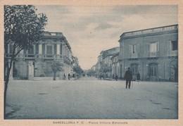 Cartolina - Barcellona - Piazza Vittorio Emanuele - Messina