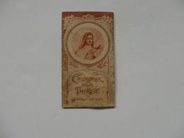 Petit Calendrier 1935 De Sainte-Thérèse De L'Enfant-Jésus 46-48 Rue Du Livarot à Lisieux (14). - Calendars
