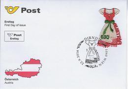 Fdc Dirndl Afst.Wien - 2011-... Lettres