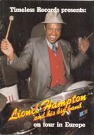 Muziek - Programmaboekje  Lionel Hampton And His Big Band On Tour In Europe - 1982 - Programma's