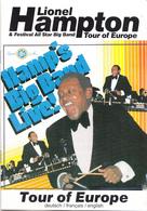Muziek - Programmaboekje  Lionel Hampton And His Big Band On Tour In Europe - 1989 - Programma's