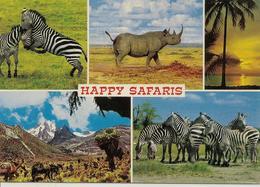 CPM Kenya, Happy Safaris (multivues) - Kenia