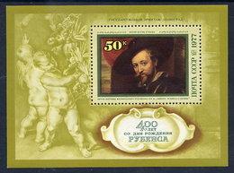 SOVIET UNION 1977 Rubens Anniversary Block MNH / **.  Michel Block 118 - 1923-1991 USSR