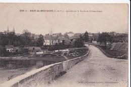 Carte 1915 BAIN DE BRETAGNE / ARRIVEE PAR ROUTE DE CHATEAUBRIANT - Frankreich