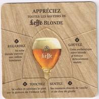 Sous Bock - 2 Sous-bocks Leffe Blonde - Leffe Brune - Appréciez Toutes Les Saveurs De ... - Sous-bocks