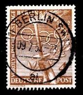Allemagne Berlin 1952 Mi.Nr: 88 Vorolympische Festtage  Oblitèré / Used / Gebruikt - [5] Berlijn