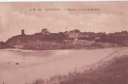 Carte 1930 ROTHENEUF / LE MINIHIC ET LA TOUR DU BONHEUR - Rotheneuf
