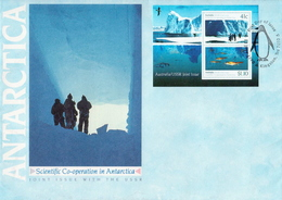Australia Antarctic SS On FDC - FDC