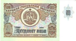 Bulgaria - Pick 98a - 50 Leva 1990 - Unc - Bulgarie