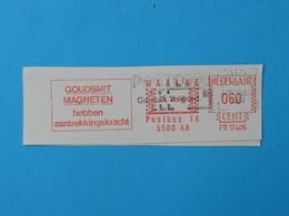 Ema, Meter, Magnet, Goudsmit - Postzegels