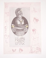 Ex-libris Moderne XXème Illustré -  Allemagne - FRANZ VON STUCK - Ex Libris