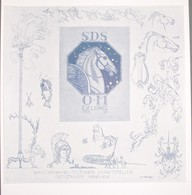 Ex-libris Moderne XXème Illustré -  Allemagne - SCHUTZVERBAND DEUTSCHER SCHRIFTSELLER ORTSGRUPPE M.. - Ex Libris