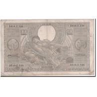 Billet, Belgique, 100 Francs-20 Belgas, 1935, 1935-12-13, KM:107, TB+ - [ 2] 1831-... : Regno Del Belgio