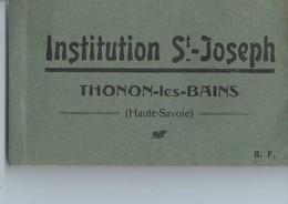 Carnet De 20 Cpa -Thonon Les Bains-institution St Joseph-classes Année 1922-23 - Thonon-les-Bains
