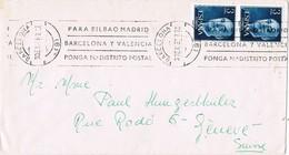 28241. Carta BARCELONA 1967. Rodillo Correos - 1931-Hoy: 2ª República - ... Juan Carlos I