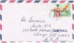28243. Carta Aerea KINGSTON (Jamaica) 1990 To USA - Jamaica (1962-...)