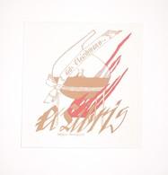 Ex-libris Moderne XXème Illustré -  Allemagne - Fritz Fleishmann - Ex-libris