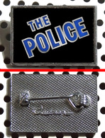 Badge (pas Pin's) Du Groupe THE POLICE Fabrication Anglaise Clubman - Music