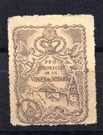 Viñeta Pro Coronacion Virgen Del Rosario. - España