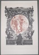 Ex-libris Moderne XXème Illustré -  Allemagne - Willy Weigand - Ex-libris