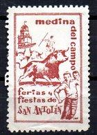 Viñeta  Fiestas De Medina Del Campo. - España
