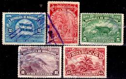 Honduras-0053 - Posta Aerea 1943: Valori Della Serie Y&T N 121-135 (o) Used - - Honduras