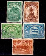 Honduras-0054 - Posta Aerea 1943: Valori Della Serie Y&T N 121-135 (o) Used - - Honduras