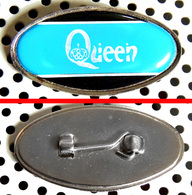 Badge (pas Pin's) Du Groupe QUEEN Fabrication Anglaise - Music