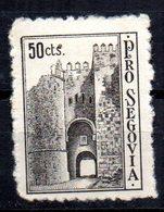Viñeta  Pro Segovia De 50cts - Viñetas De La Guerra Civil