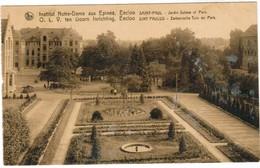 Eeklo, Eekloo, O.L.Vrouw Ten Doorn, Sint Paulus, Zwitersche Tuin En Park (pk44218) - Eeklo