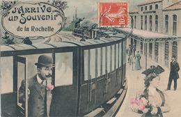 LA ROCHELLE - J'ARRIVE UN SOUVENIR DE LA ROCHELLE - La Rochelle